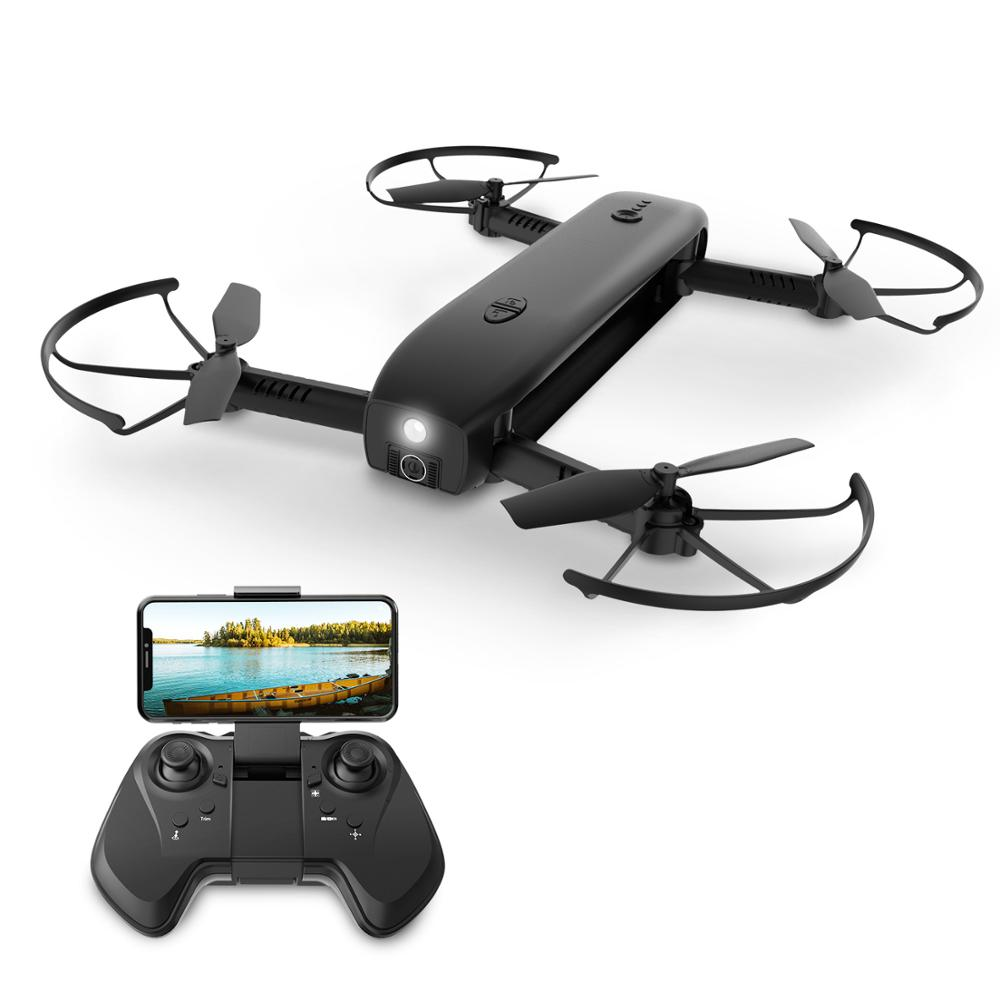 Holy Stone HS161 FPV Drone with Camera 1080P HD Selfie Drone Foldable Drones Optical Flow Positioning Flashlight RC Quadcopter