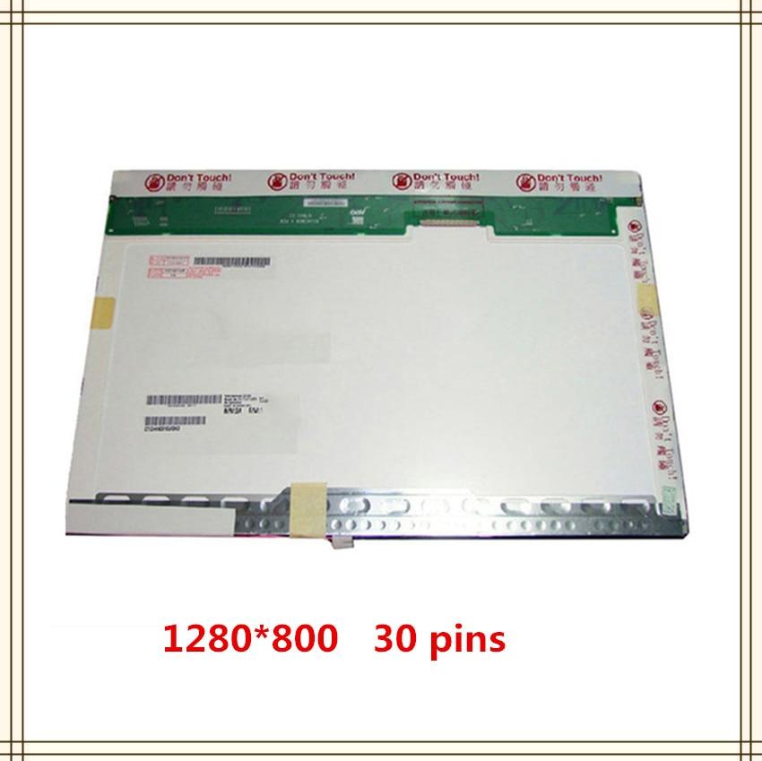 Pantalla lcd para ordenador portátil 15,4, LTN154AT07, N154I2-L02, LTN154AT01, LTN154AT10, LP154WX3, LP154WX4, LP154WX5, B154EW08, B154EW02, 1280x800, 30 PIN