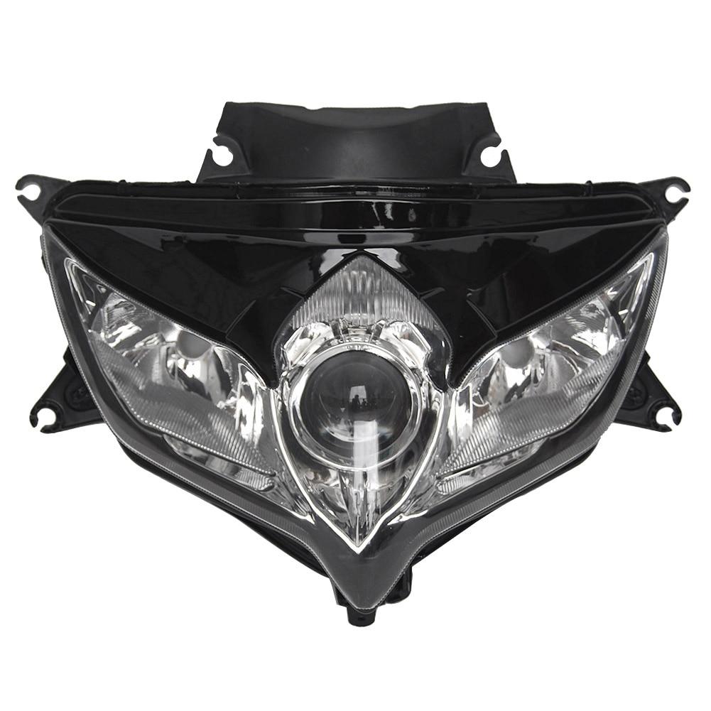 Motorcycle Front Headlight Headlamp Assembly for Suzuki GSXR 600 750 K8 2008 2009 / GSXR600 GSXR750 08 09 High Quality ABS
