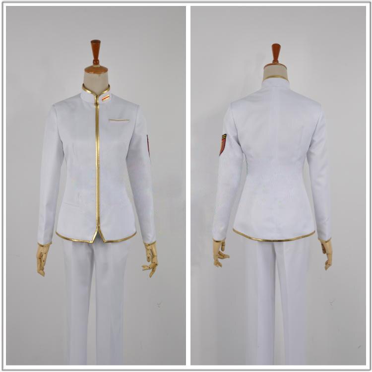 Joli Club de défense de la terre haute amour! Costume de Cosplay uniforme du Club de conquête Ibushi Arima E001