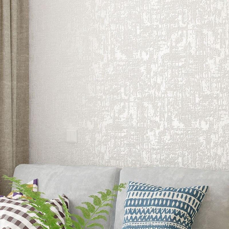 Текстурированная простая настенная бумага для домашнего декора, фон для спальни, настенная бумага, однотонный цвет, белый, розовый, кремовый, бежевый, синий