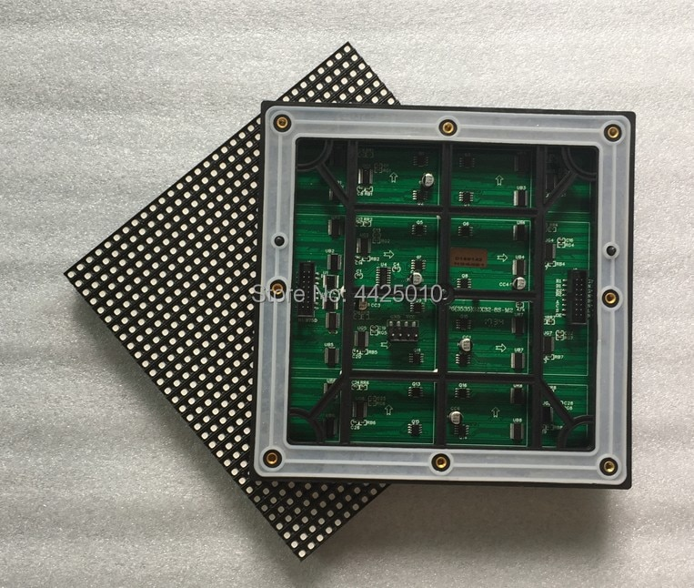 P6 al aire libre Módulo De Pantalla Led HUB75 interfaz P6 2727 SMD 192*192mm IP65 que contienen alambre