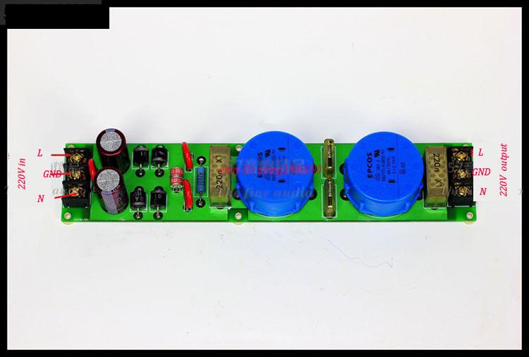 La carte dalimentation de purification Audio ZEROZONE améliore la qualité audio/250 V 8A pour Amp L6-44