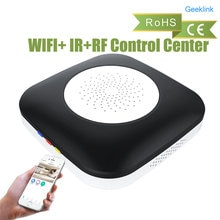 Geeklink Mini penseur maison intelligente télécommande universelle, WIFI + IR + RF centre de contrôle Compatible avec Alexa pour la maison intelligente