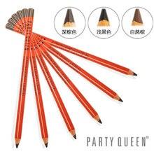 12 pièces/lot Party Queen haute qualité crayon à sourcils maquillage imperméable naturel professionnel 3 couleurs sourcil livraison gratuite