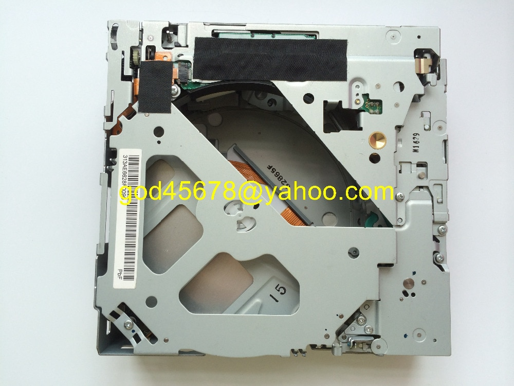 Nuevo Matsushita 6 CD cambiador 19Pin conector mecanismo E-9060A para MMI 4E0 035 111 A GMC2005 SAAB MAZDA VW RCD500 CD de coche