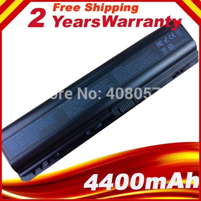 DV2000 de 5200 mAh de la batería para HP Pavilion DV6000 G6000 G7000 COMPAQ Presario V3000 V6000 A900 C700 F500 F700 envío gratis