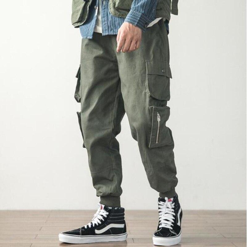 Pantalones Harem informales para baile de hip hop, pantalones pitillo deportivos para hombre de hip hop, pantalones de chándal para hombre, talla M-5XL