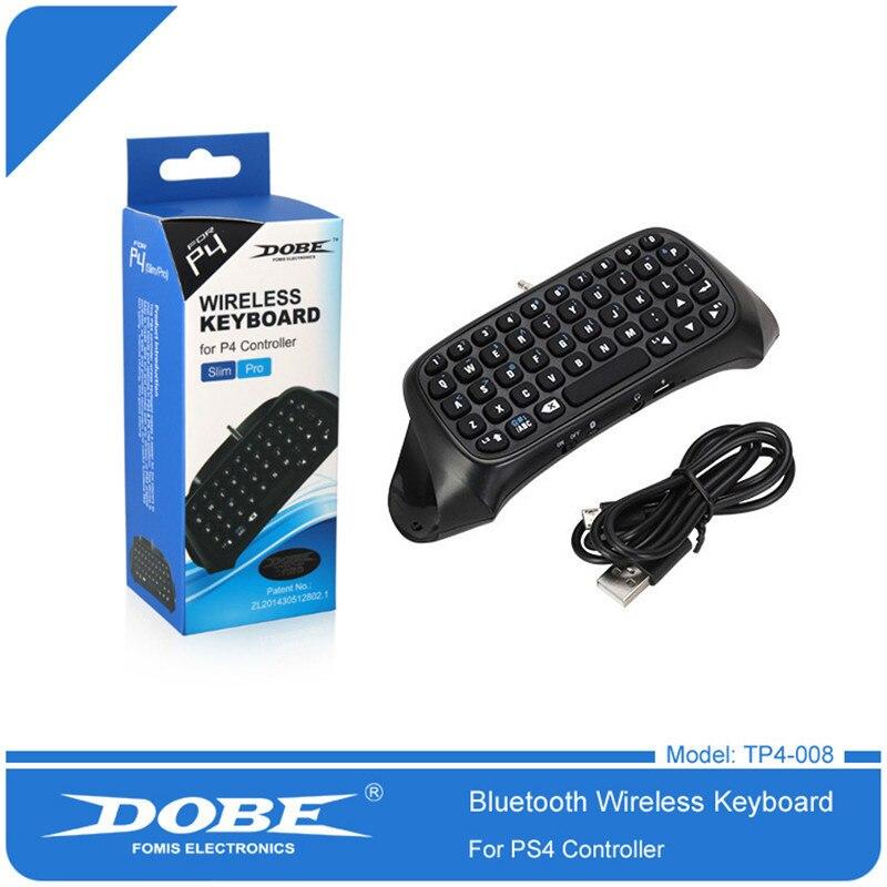 Dobe ps4 mini teclado sem fio bluetooth ps4 lidar com teclado para sony playstation ps 4