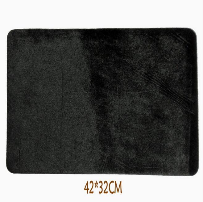 10 pçs/lote 42*32 cm Preto de Alta Qualidade Por Atacado Profissional Cartão deck Mat close up truques de mágica Pad Para poker & Coin prop