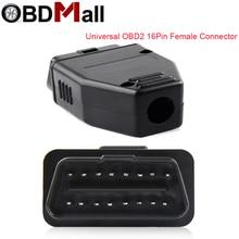 OBD2 16Pin адаптер для проводки разъем OBDII гнездовой разъем для автомобильной диагностики корпус диагностики OP COM Автосканер 16Pin Интерфейс