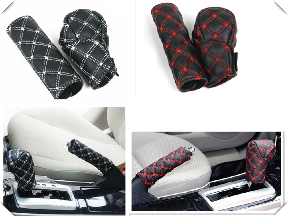 Caja de cambios de la manija del freno de mano del interior del coche 2 unids/set para Fiat Fiorino 595 500 500S Toro Fullback aegea