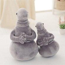 45cm attente Statue peluche jouet mignon Meme Tubby gris Blob doux peluche monstre kawaii poupée Homunculus Loxodontus enfants enfant cadeaux