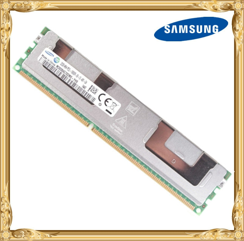 Samsung server speicher DDR3 32 GB 1333 MHz ECC REG Register RDIMM PC3L-10600R RAM 240pin 10600 32G