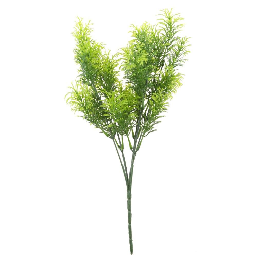 Árbol de cedro Artificial 30cm de alto-verde-decoración interior o exterior