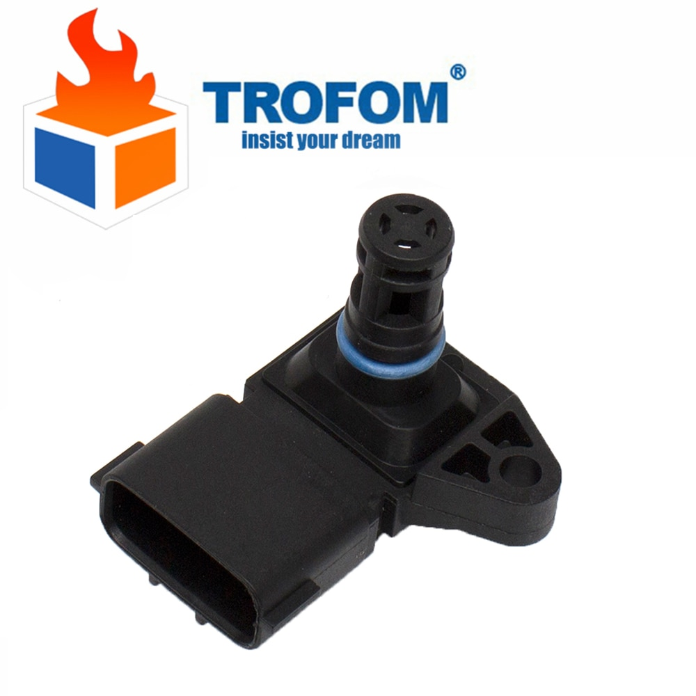 4 BAR MAP Manifold Pressure Sensor for Peugeot KIA citroen hyundai 80018383 5WK96841 2045431 5WY2833A  use CNG engine