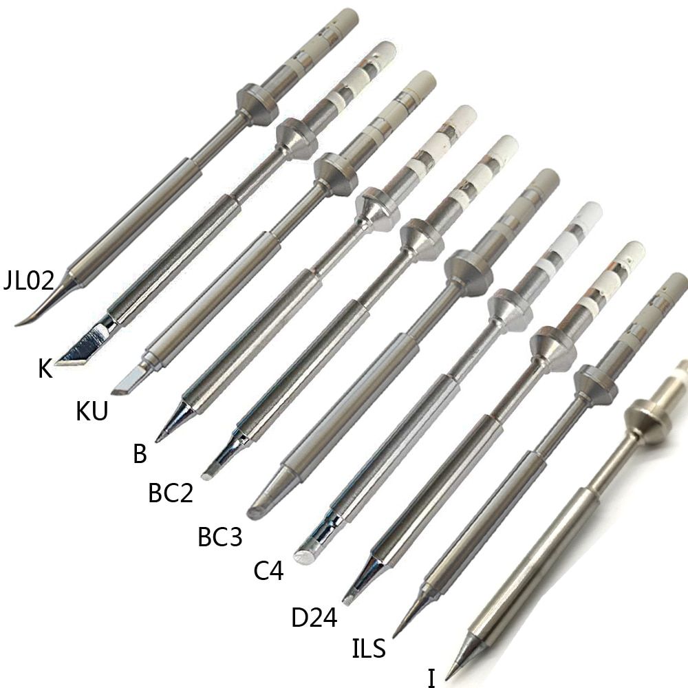 1 шт. TS100 Электрический паяльник наконечники свинца Замена различных моделей наконечник TS-K KU I D24 BC2 C4 BC3 ILS JL02 B 10 видов на выбор