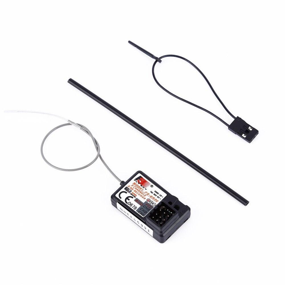 Receptor Flysky FS-GR3E 3 canales 2,4G GR3E para RC coche camión barco GT3 GT2 transmisor