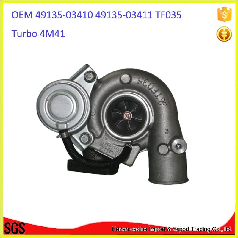 TF035 электрическая турбина 4M41 Турбокомпрессор 49135-03410 49135-03411 ME191474 турбо для Mitsubishi Pajero