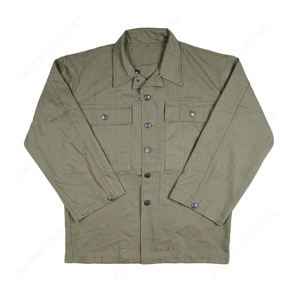 WW2 Ejército de EE. UU. soldado campo verde HBT chaqueta puro algodón uniforme militar en tamaños-tienda militar mundial