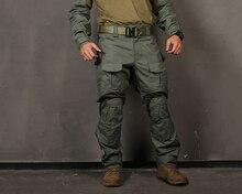 EmersonGear G3 Taktik Pantolon Askeri Avcılık Airsoft EMERSON Gen3 Savaş Pantolon Pantolon Diz Pedleri ile Yeşillik Yeşil EM9351FG