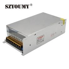 Interruptor de fuente de alimentación SZYOUMY 480W 12V 40 a controlador de conmutación transformador de voltaje regulado para tira de luz Led 110 V/220 V