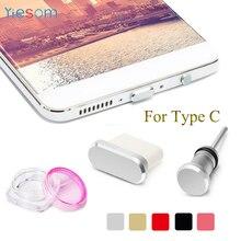 TYPE C Anti Dust Plug Set USB C Port and 3.5mm Earphone Jack Plug For Huawei Mate 20 Pro P20 P30 Xiaomi Mi 9 8 Lite A2 MiX 3 F1