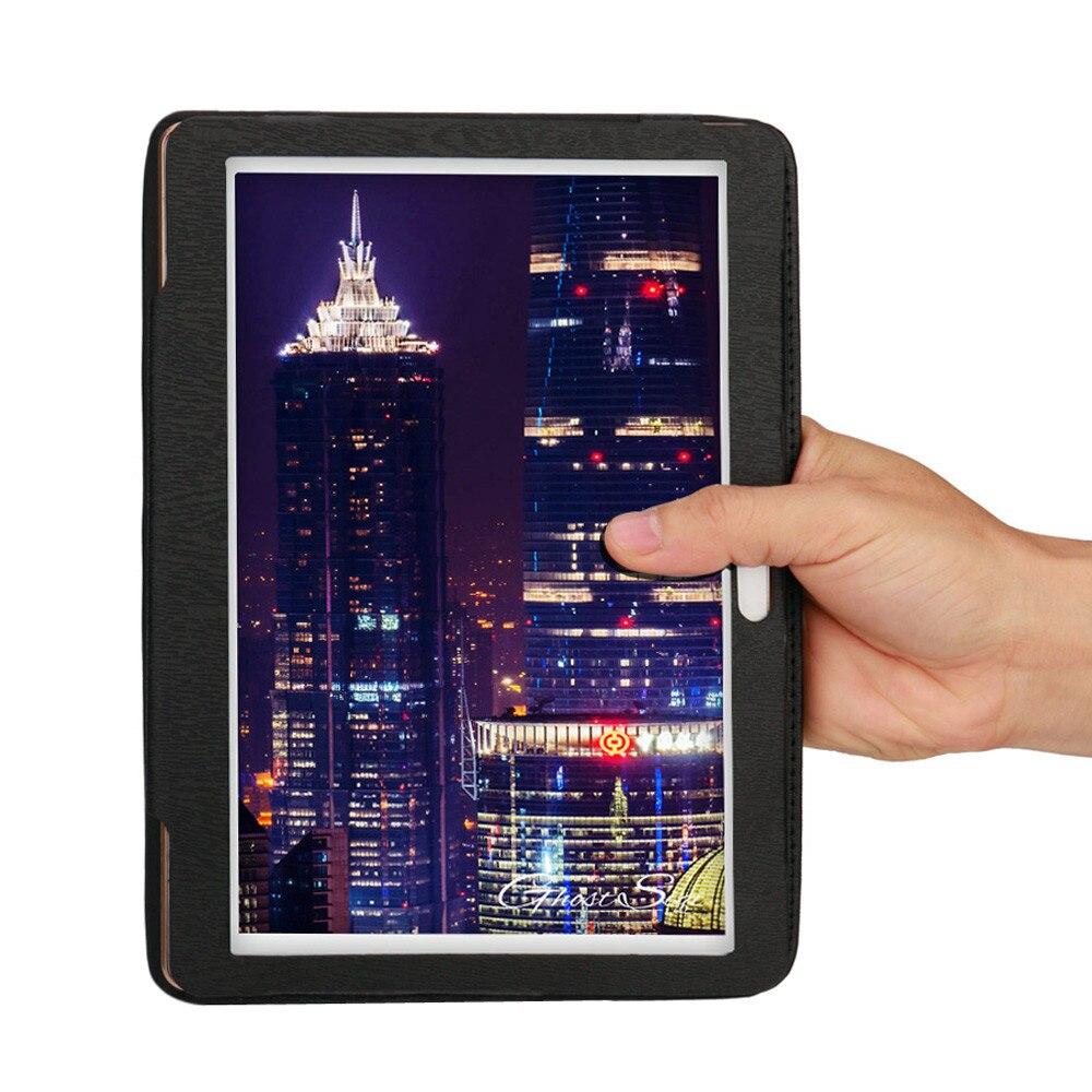 Etui na tablet do 10 10.1 Cal tabletu z systemem Android uniwersalny Folio skórzany stań pokrywy skrzynka dla 10 10.1 Cal z systemem Android tablet PC # y4