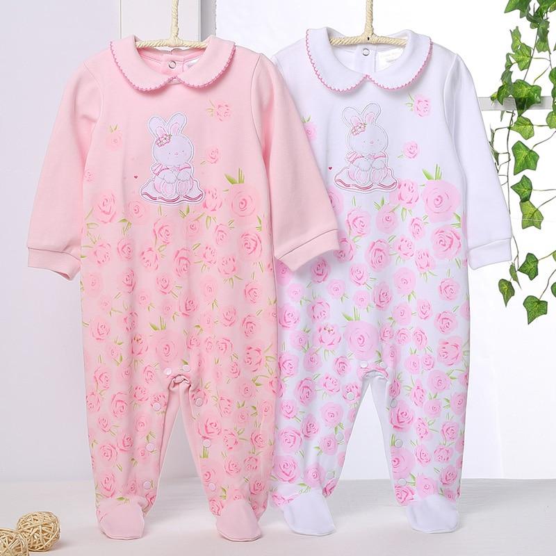 Baby clothes baby girl romper long sleeves kids clothes 100% cotton baby girl clothes children clothing kids baby girl romper
