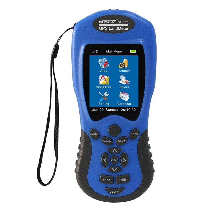 GPS счетчик земли NF-198 GPS оборудование для съемки используется для земледелия фермы и картографирования области измерения дисплей измеритель...