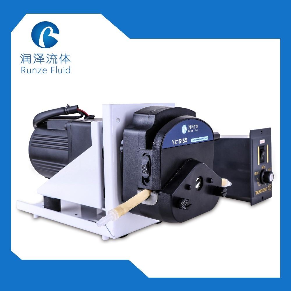 Großen Fluss 0-2000 ml/min Schlauchpumpe AC220v Geschwindigkeit Einstellbar mit Silicon Schläuche Industrie Flüssigkeit Pumpe