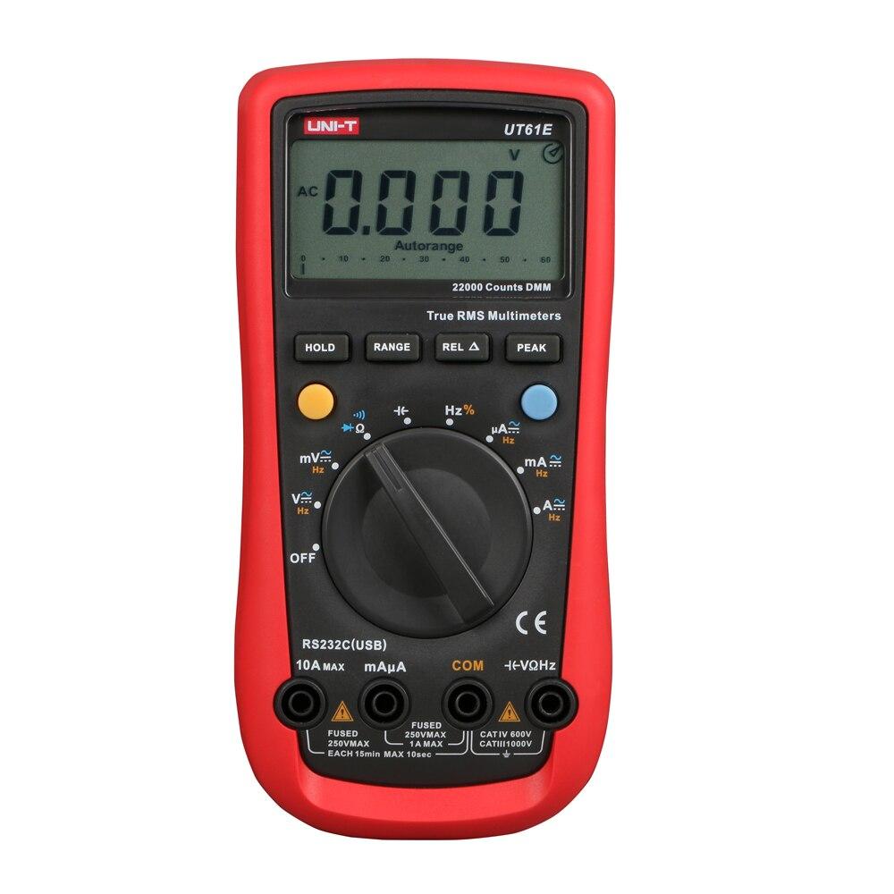 UNI-T UT-61A UT61B UT61C UT61D UT61E Auto Manual Ranging Modern Digital Multimeter AC DC ohmmeter ammeter Meter