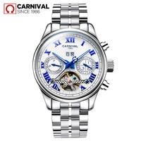 Watch Men Business Waterproof Clock Mens Watches Brand Luxury Fashion Casual Sport Mechanical Wristwatch Relogio Masculino 2017