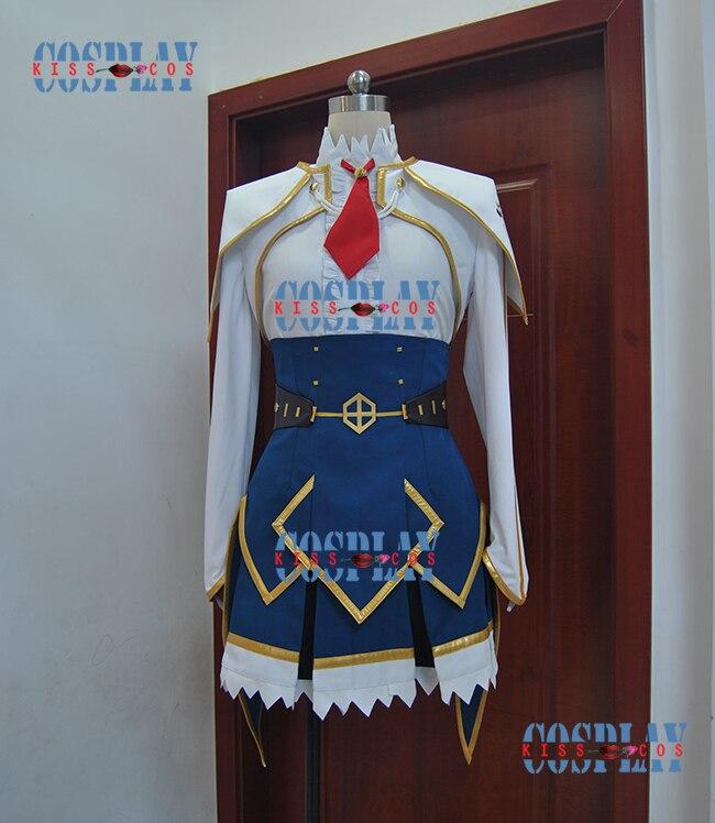 Saijaku Muhai no Bahamut invicto Bahamut crónica Lisesharte Atismata uniformes Cosplay traje envío gratis