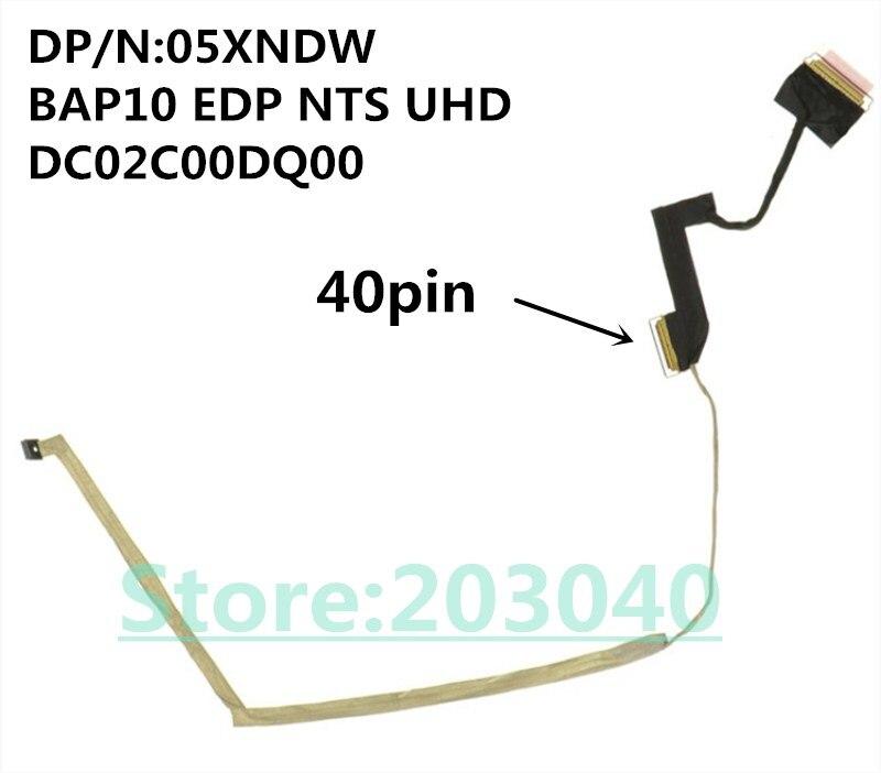 Nuevo Original ordenador portátil/portátil LCD/LED/cable LVDS para Dell alienígena M15X R3 15...