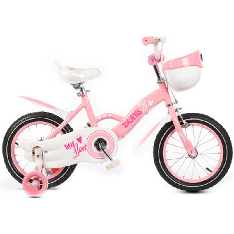Bicicleta ligera para niños 12/14/16/18 pulgadas bicicleta para niños regalo de bicicleta para niños y niñas