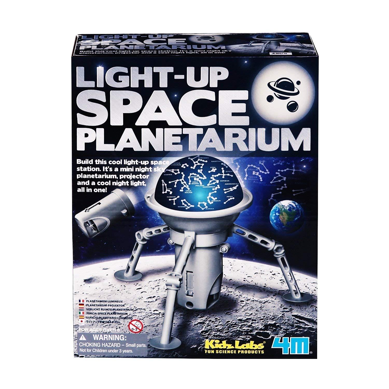 4 м Kidz Labs свет вверх космический планетарий построить этот крутой космическая