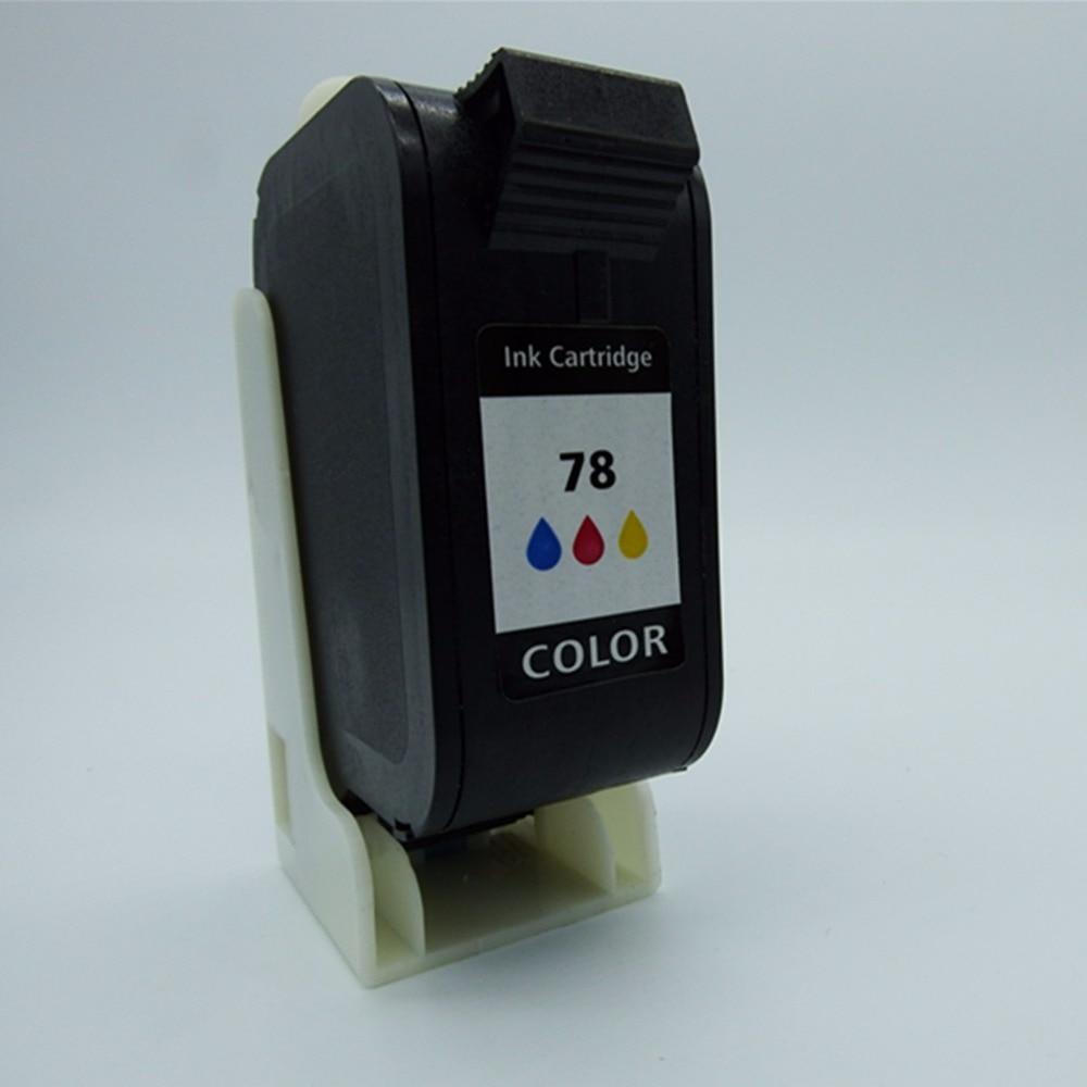 Cartuchos de tinta remanufacturados a Color para HP78 XL 78XL HP78XL HP78 6578D Fax 1220 1230 PSC 720 750 950 fotocopiadora a Color 180 190 280