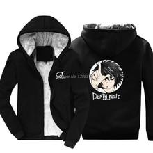 Fashion Death Note L Loser Anime Manga Hoodie Funny Casual Brand Tops Men Cotton Sweatshirt Jackets Harajuku Streetwear