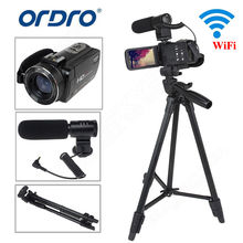 "ORDRO Z20 Full HD videocámara digital cámara DV 1080P 24MP 3 ""LCD 16X ZOOM con micrófono + trípode"