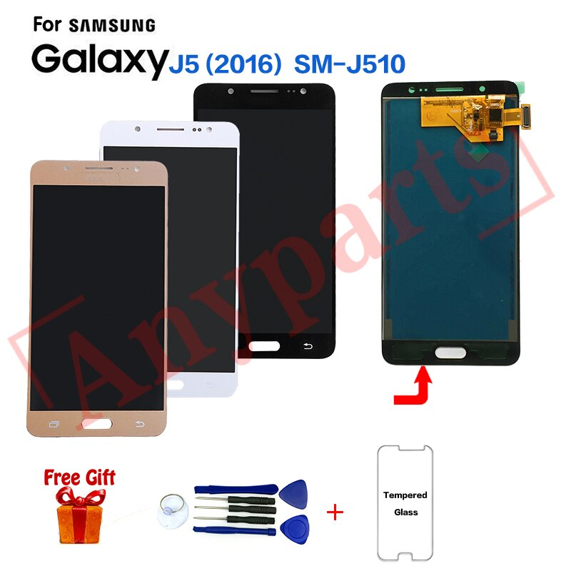 TFT для Samsung J5 2016 SM-J510FN J510F дисплей ЖК-экран модуль для Samsung SM-J510MN J510GN J510L дисплей экран Замена