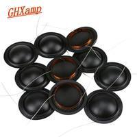 Promotion 12pcs 25.4mm Tweeter Voice Coil Silk Diaphragm Drive 25.5core KSV Treble Speaker Repair DIY 6ohm 8ohm 100pcs