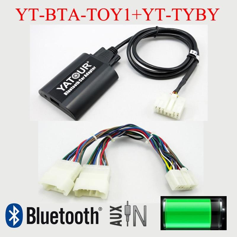 Bluetooth MP3 hands free kit Yatour для Toyota Lexus 5 + 7 радиостанций с навигационной системой