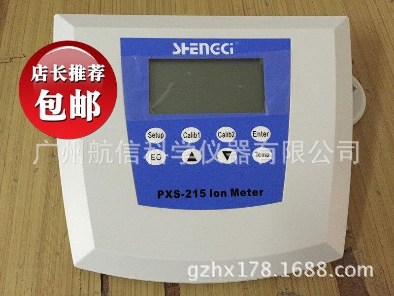 Detector PXS-215 concentración Ionómetro de iones en solución acuosa
