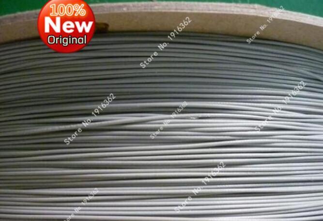 100 м/1 шт./лот 1,13 1,13 мм провода/коаксиальный антенный кабель 50 Ом 100 м серый цвет