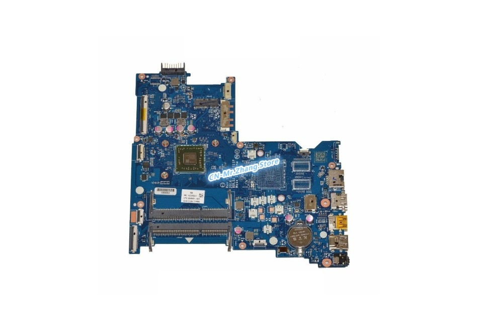 SHELI para placa base de ordenador portátil HP 15-AF con CPU de E2-7110 854941-601 854968-601 LA-D711P DDR3