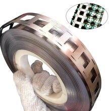 Envío gratis 1M Tira de níquel puro 2P 0,15*27mm tira de níquel para 18650 batería de litio cinta de soldadura de alta pureza cinturón de níquel puro