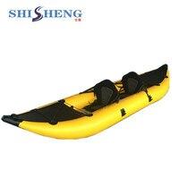 china factory supply cheap standard PVC inflatable kayak