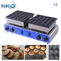 CE approved 110V/220V commercial 50 hole dorayaki machine mini dutch pancakes mini pancake maker Dutch Poffertjes grill