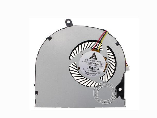 New For Toshiba P50 S50 S55 L50D-AS50 p55 S55t For Delta KSB0805HB CL1X CL2C For FCN DFS531305M30T FC92 5V 3Pin CPU Cooling Fan
